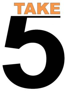 Official TAKE 5 LOGO